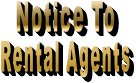 Notice To  Rental Agents
